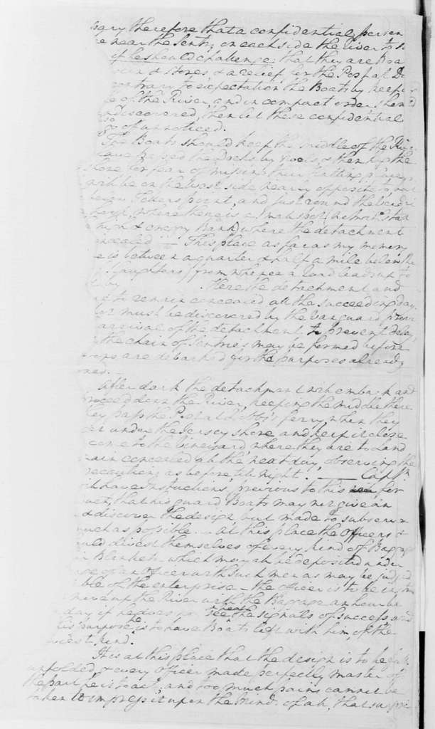 George Washington Papers, Series 4, General Correspondence: George Washington to Edward Hand, July 2, 1781