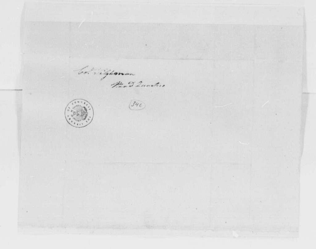 George Washington Papers, Series 4, General Correspondence: Isaac Ledyard to Tench Tilghman, May 15, 1781