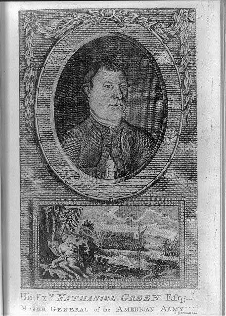 His excy. Nathaniel Green, Esq., major general of the American Army / J. Norman sc.