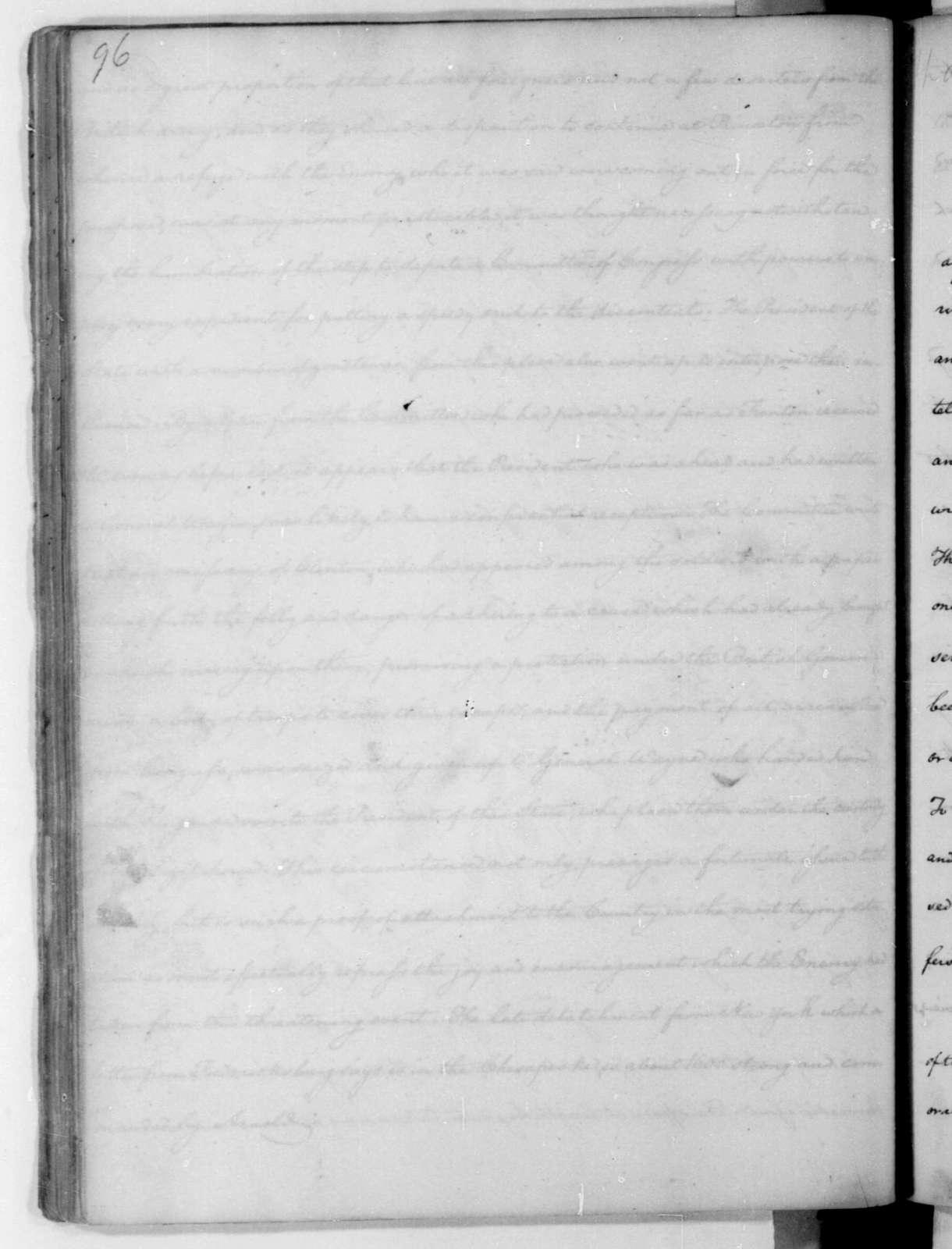 James Madison to Edmund Pendleton, January 9, 1781.