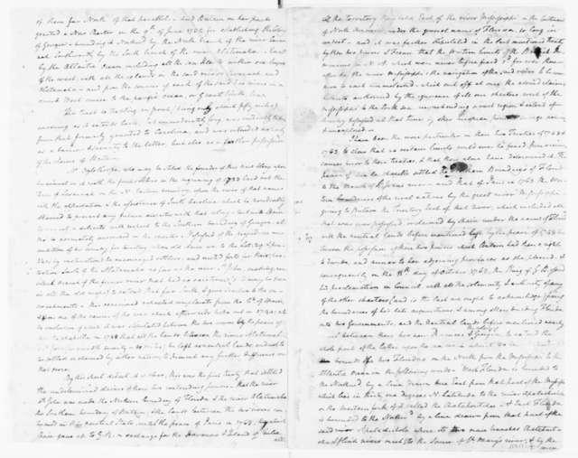 Lachlan McIntosh to N. W. Jones and Edward Telfair, November 15, 1781.