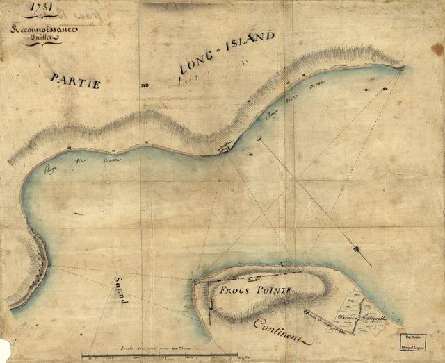 Reconnoissance, juillet, 1781.