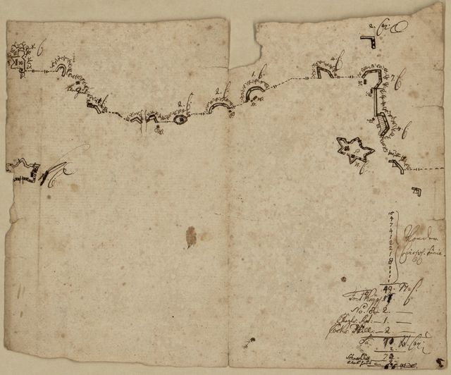 [Sketch map of fortifications in the vicinity of Fort Washington, Manhattan Island, New York].