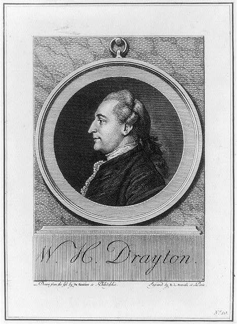 W.H. Drayton / drawn from the life by Du Simitier in Philadelphia ; engraved by B.L. Prevost at Paris.