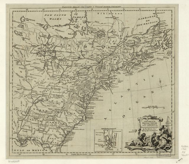 A new map of the British Empire in Nth. America,