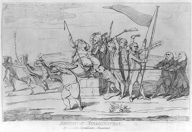 Britania's assassination, or -- the republican amusement