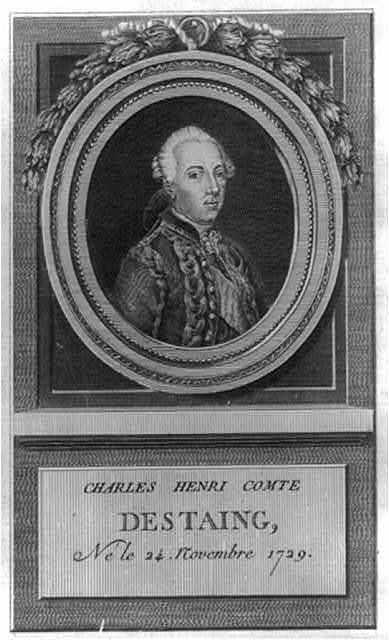 Charles Henri Comte Destaing, né le 24 Novembre 1729