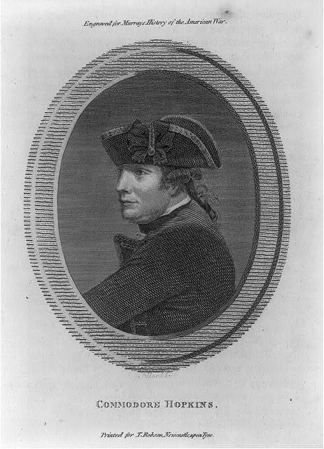 Commodore Hopkins / R. Pollard sc.