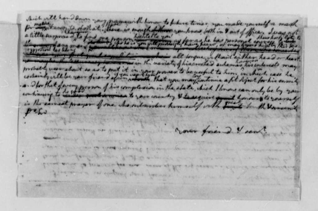 Francois Jean, Chevalier de Chastellux to Thomas Jefferson, November 26, 1782