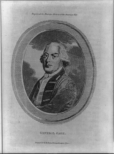 General Gage / R. Pollard sculp.