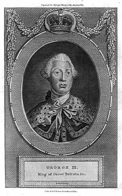 George III, King of Great Britain &c / Pollard sculp.