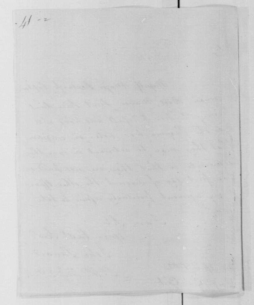 George Washington Papers, Series 4, General Correspondence: John Steward to Mordecai Gist, April 21, 1782