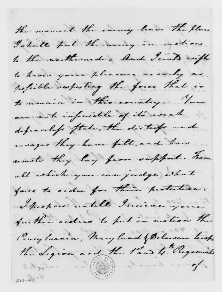 George Washington Papers, Series 4, General Correspondence: Nathanael Greene to George Washington, August 12, 1782, with Copy