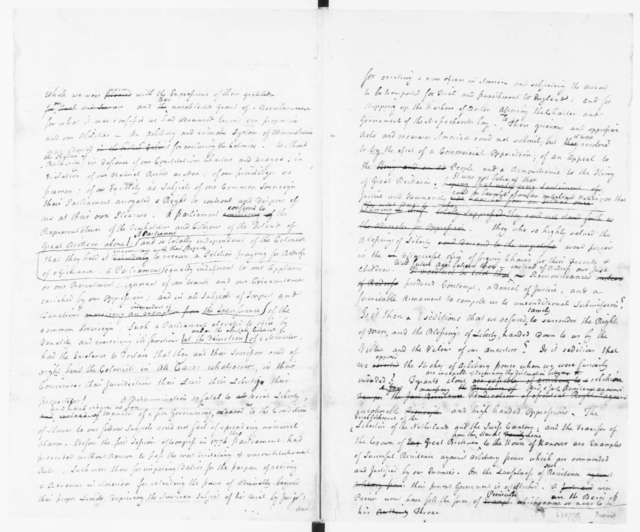 James Duane. Report on Treatment of Henry Laurens [Incomplete]. 1782.