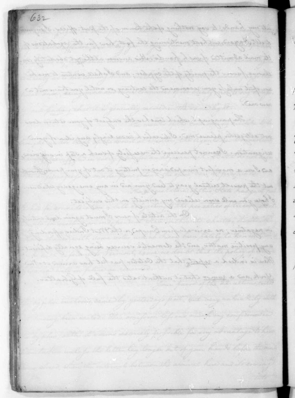 James Madison to Edmund Randolph, December 3, 1782.