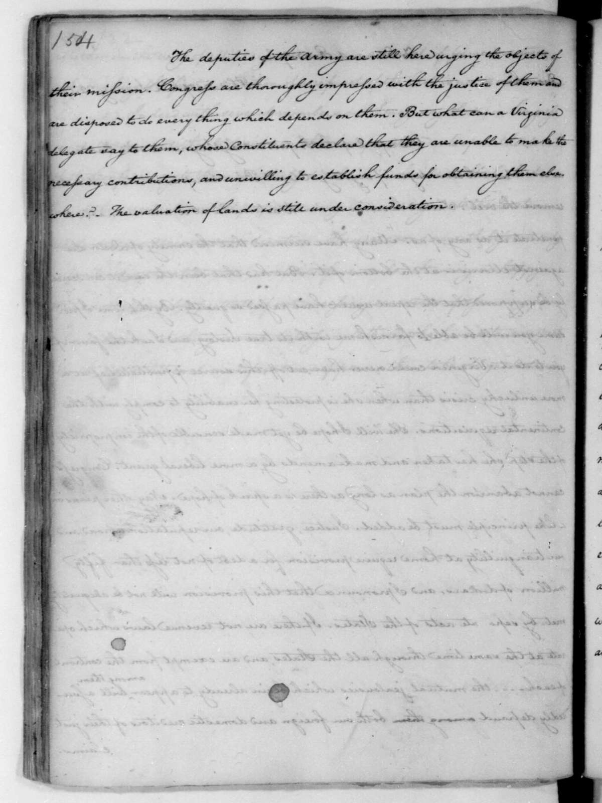James Madison to Edmund Randolph, January 22, 1782.