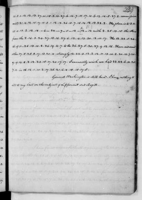 James Madison to Edmund Randolph, July 23, 1782. Partly in cipher.