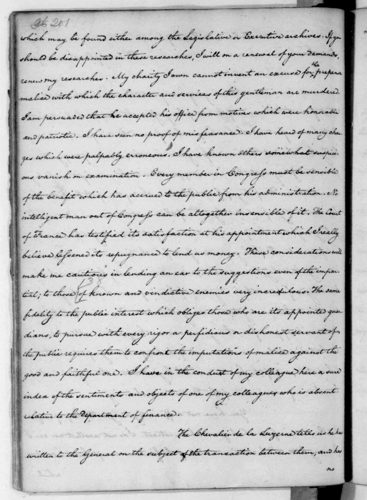 James Madison to Edmund Randolph, June 4, 1782.