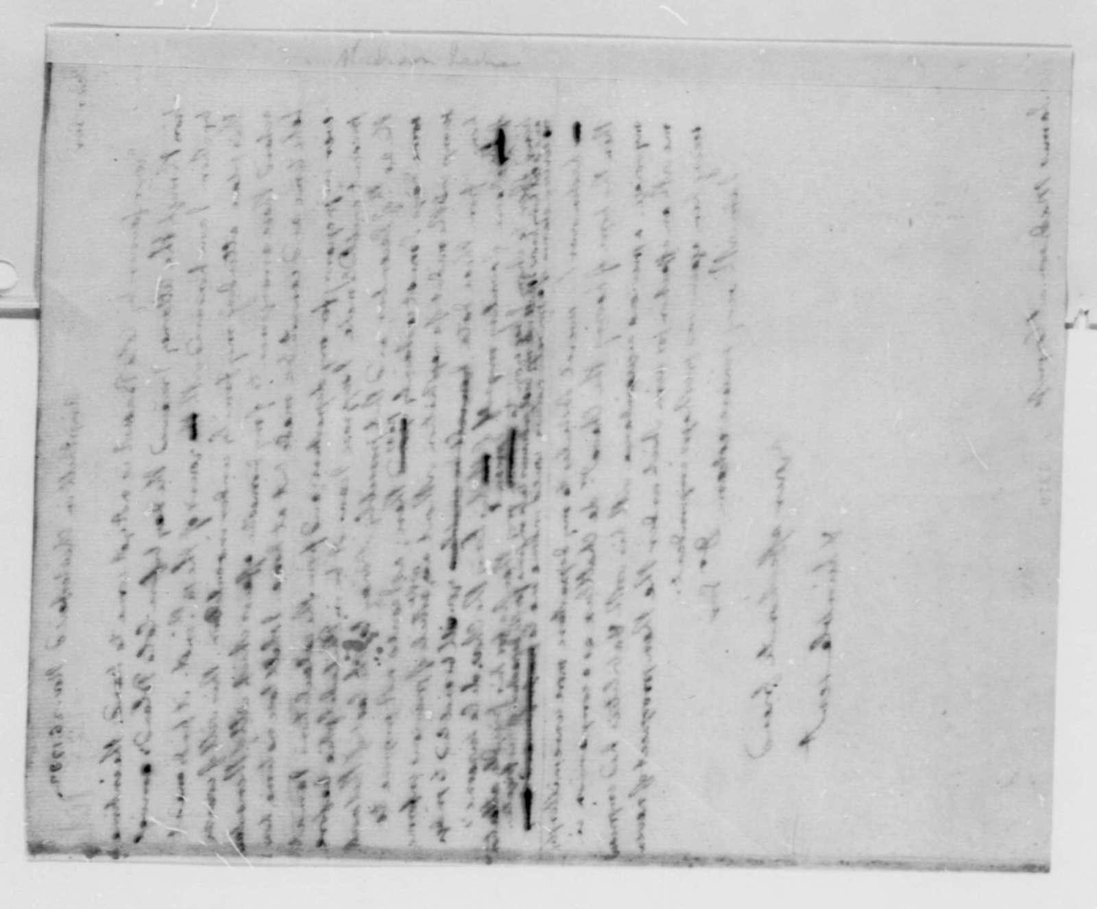 Thomas Jefferson to James Madison, November 26, 1782