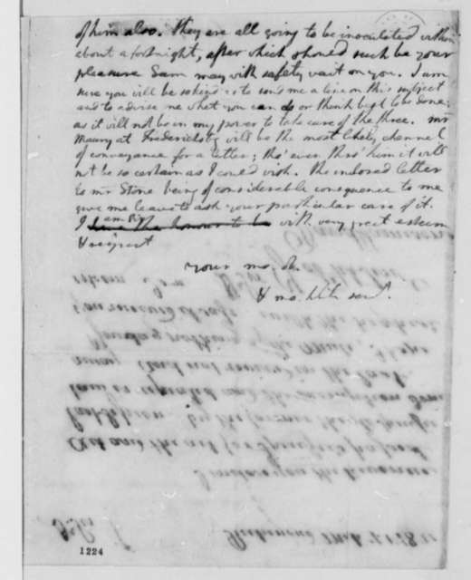 Thomas Jefferson to Overton Carr, March 16, 1782