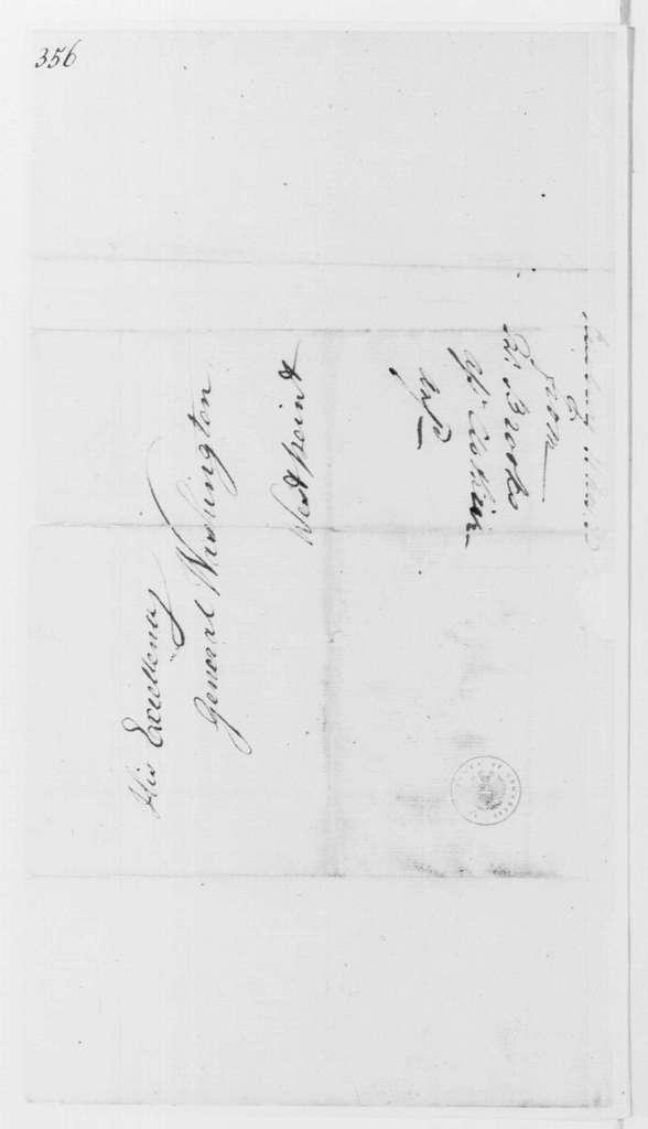 George Washington Papers, Series 4, General Correspondence: David Brooks to George Washington, November 11, 1783