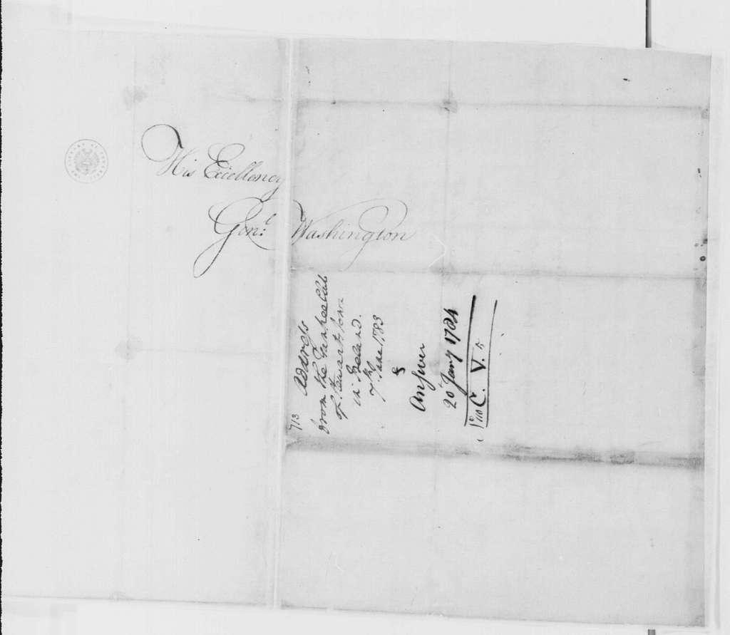 George Washington Papers, Series 4, General Correspondence: Stewartstown Ireland Yankee Club to George Washington, June 7, 1783