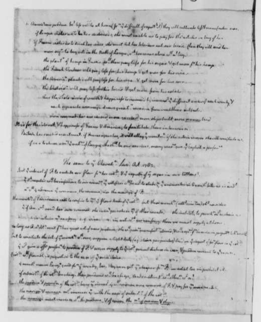 Gouverneur Morris to Francois Jean, Chevalier de Chastellux, October 7, 1783