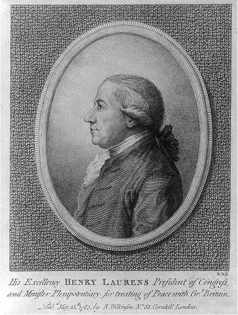 His excellency Henry Laurens, president of congress & minister plenipotentiary for treating of peace with Grt. Britain / B.B.E.