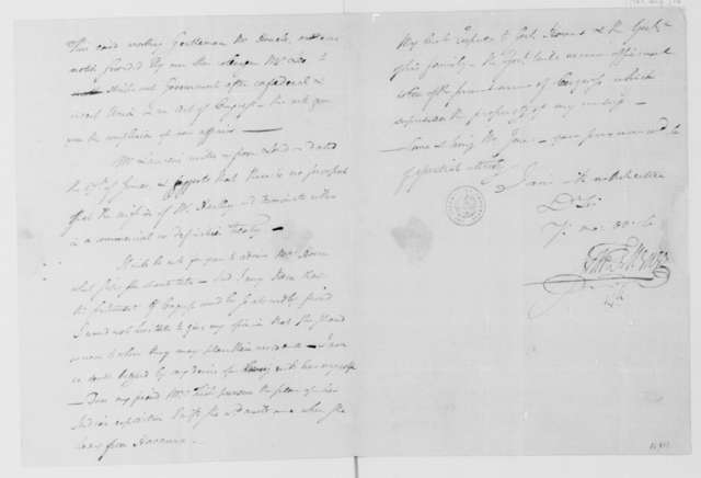 John Francis Mercer to James Madison, August 31, 1783.