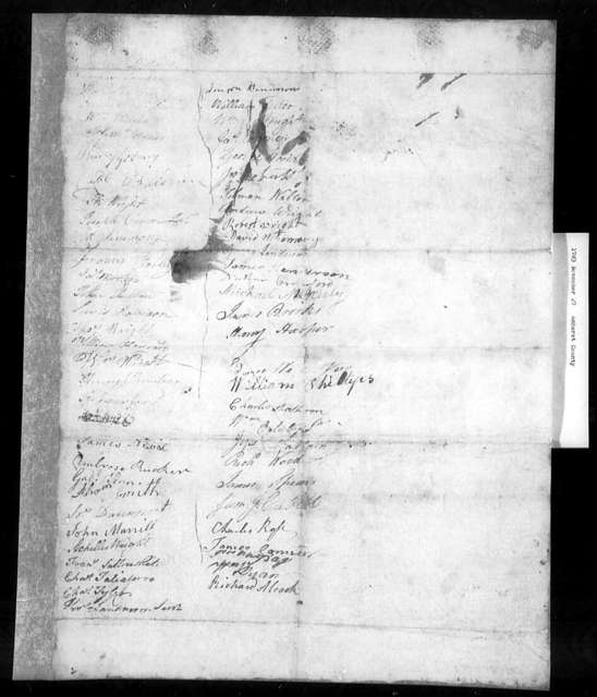 November 27, 1783, Amherst, For general assessment for support of the various Christian churches.