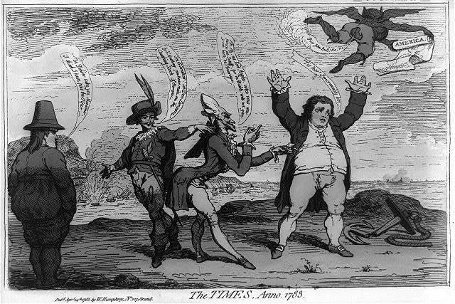 The times, anno. 1783