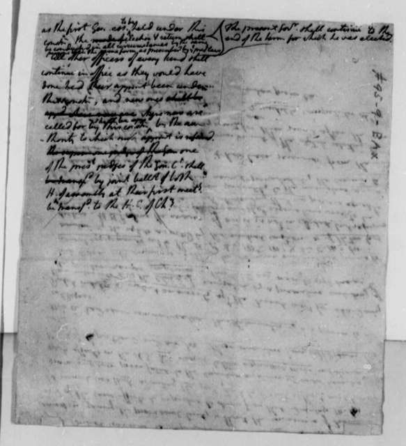 Thomas Jefferson, 1783, Notes on Ratification of Peace Treaty by States