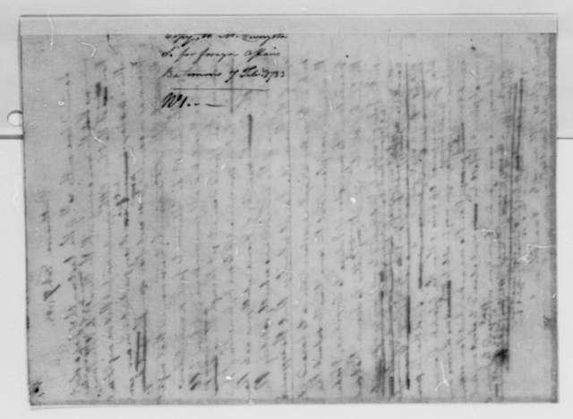 Thomas Jefferson to Robert R. Livingston, February 7, 1783