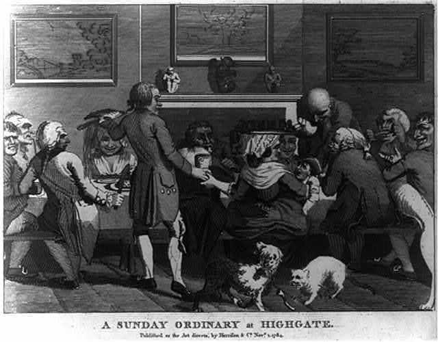 A Sunday ordinary at Highgate