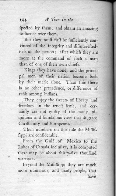 A tour in the United States of America : containing an account of the present situation of that country ; the population, agriculture, commerce, customs, and manners of the inhabitants ; with a description of the Indian nations, the general face of the country, mountains, forests, rivers, and the most beautiful, grand, and picturesque views throughout that vast continent ; likewise improvements in husbandry that may be adopted with great advantage in Europe, volume 1