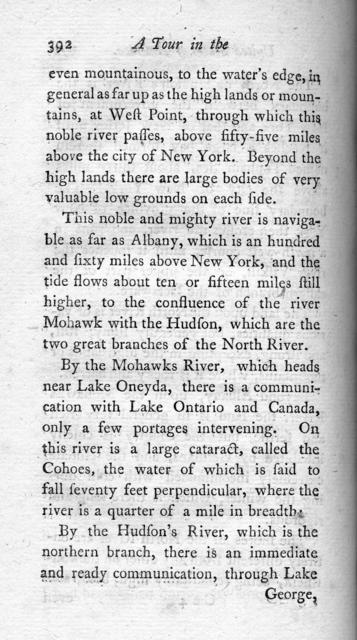 A tour in the United States of America : containing an account of the present situation of that country ; the population, agriculture, commerce, customs, and manners of the inhabitants ; with a description of the Indian nations, the general face of the country, mountains, forests, rivers, and the most beautiful, grand, and picturesque views throughout that vast continent ; likewise improvements in husbandry that may be adopted with great advantage in Europe, volume 2
