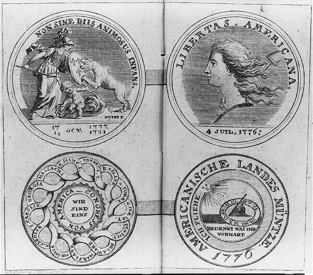 [American medals] / D. Berger sculp & del.