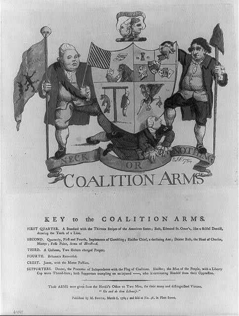 Coalition arms / JN: 1784.