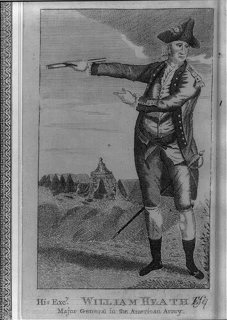 His excy. William Heath, Esqr., major general in the American army