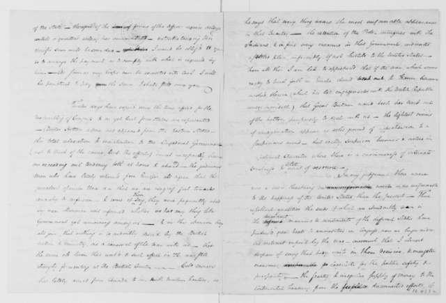 John Francis Mercer to James Madison, November 12, 1784. with Enclosure to Jacquelin Ambler.