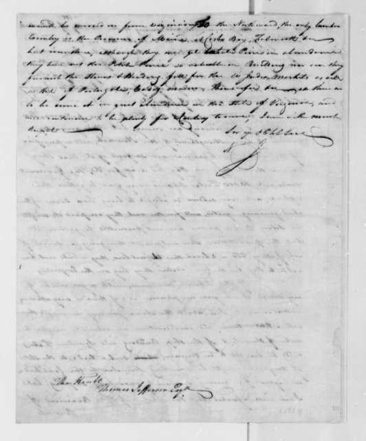 Neill Jamieson to Thomas Jefferson, July 12, 1784