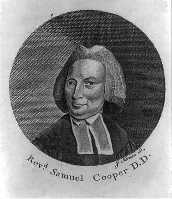Revd. Samuel Cooper D.D. / J. Norman sc.