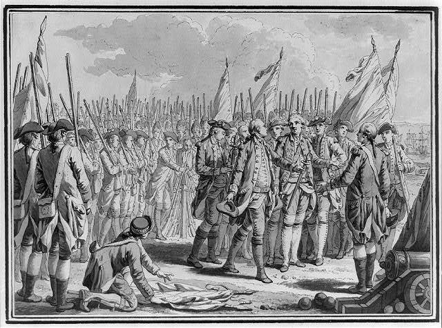[Surrender of Cornwallis at Yorktown]