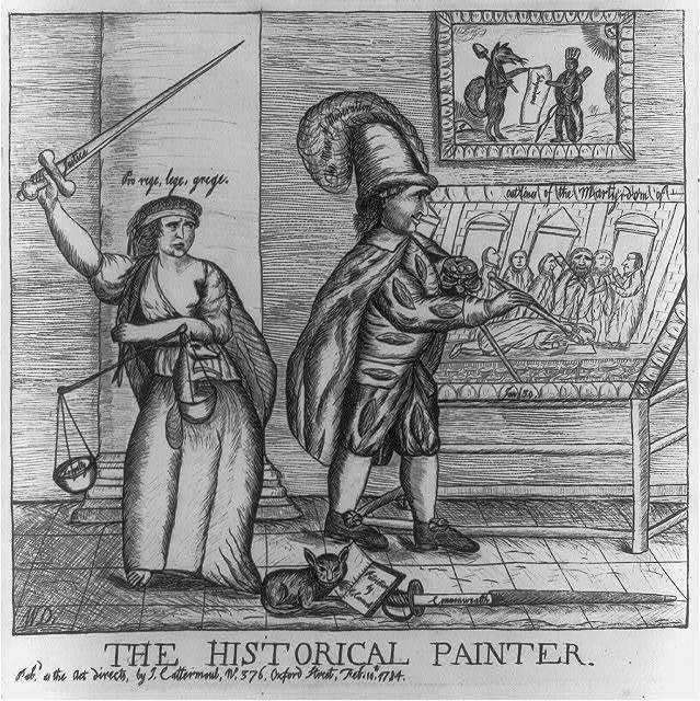 The historical painter