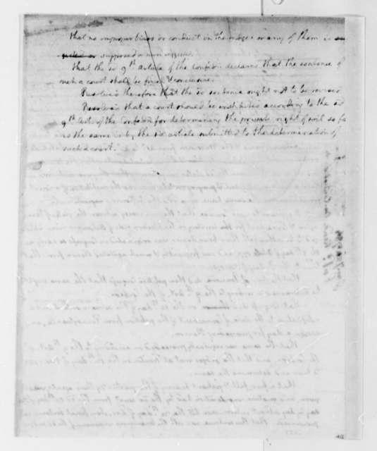 Thomas Jefferson, Arthur Lee, and Hugh Williamson, January 21, 1784, Congress's Report on Zebulon Butler's Land; Connecticut-Pennsylvania Territorial Dispute