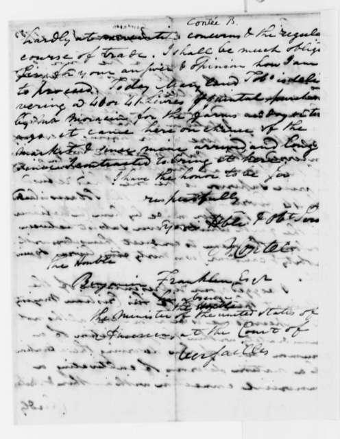 B. Contee to Benjamin Franklin, July 18, 1785