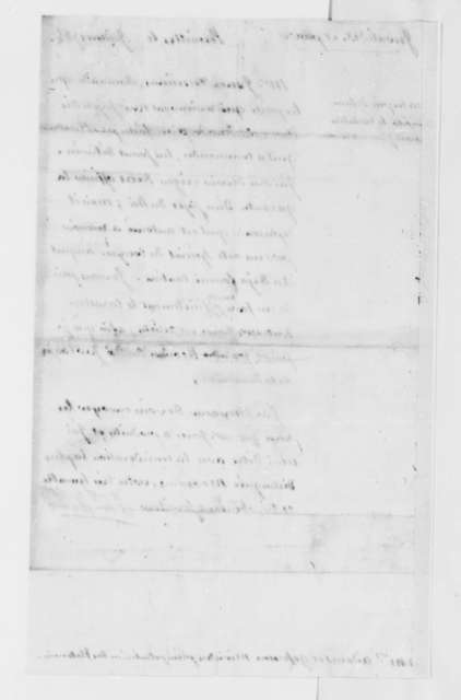 Charles, Marquis de Castries to Thomas Jefferson and John Adams, July 9, 1785, in French