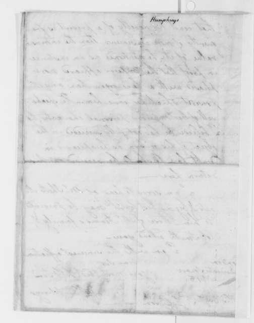 David Humphreys to Thomas Jefferson, December 19, 1785
