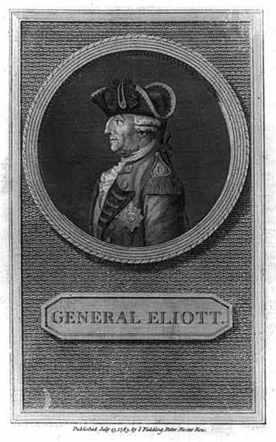 General Eliott / G. Fredk. Koehler delt. ; W. Angus sculp.