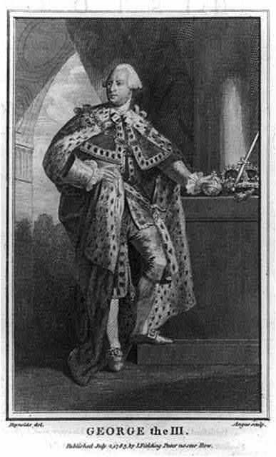 George the III / Reynolds del. ; Angus sculp.